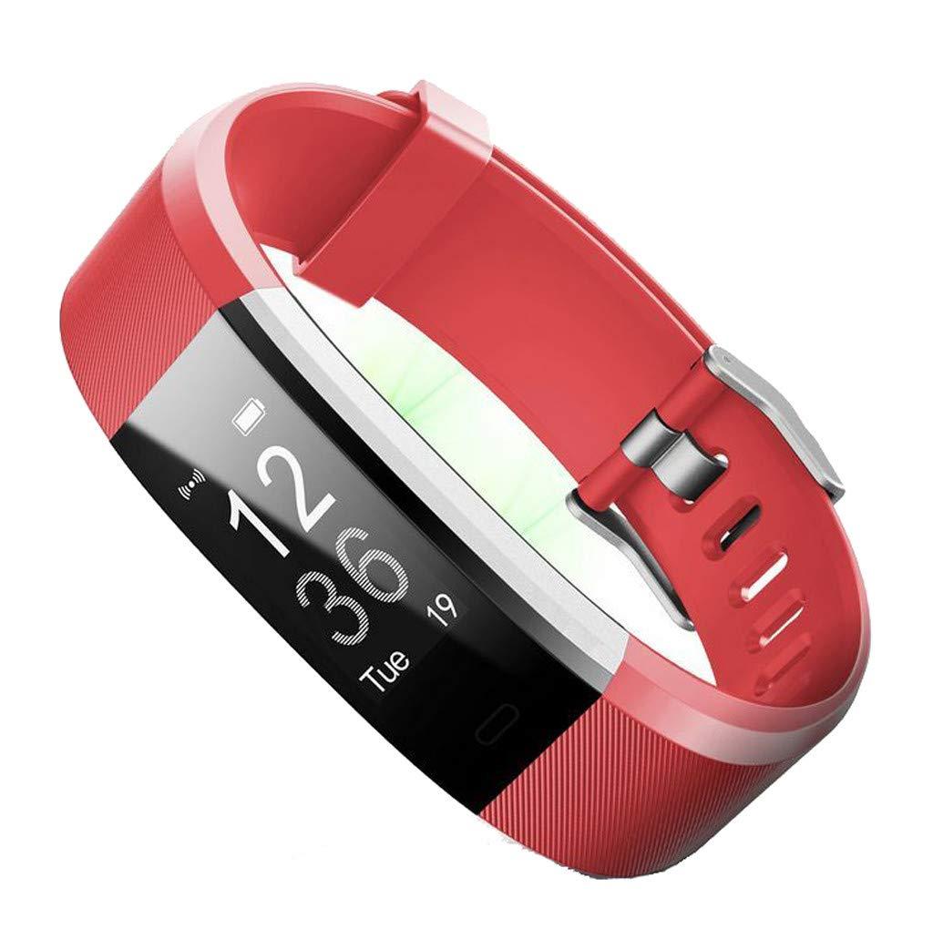 Universal Einfarbig Silikonband Ersatz Uhrenarmband f/ür ID115 Plus Smartwatch FBGood Neueste!! Uhr Armband Zubeh/ör Unisex Freizeit Gesch/äft Ersatzband Weiches Silikon Sportarmband