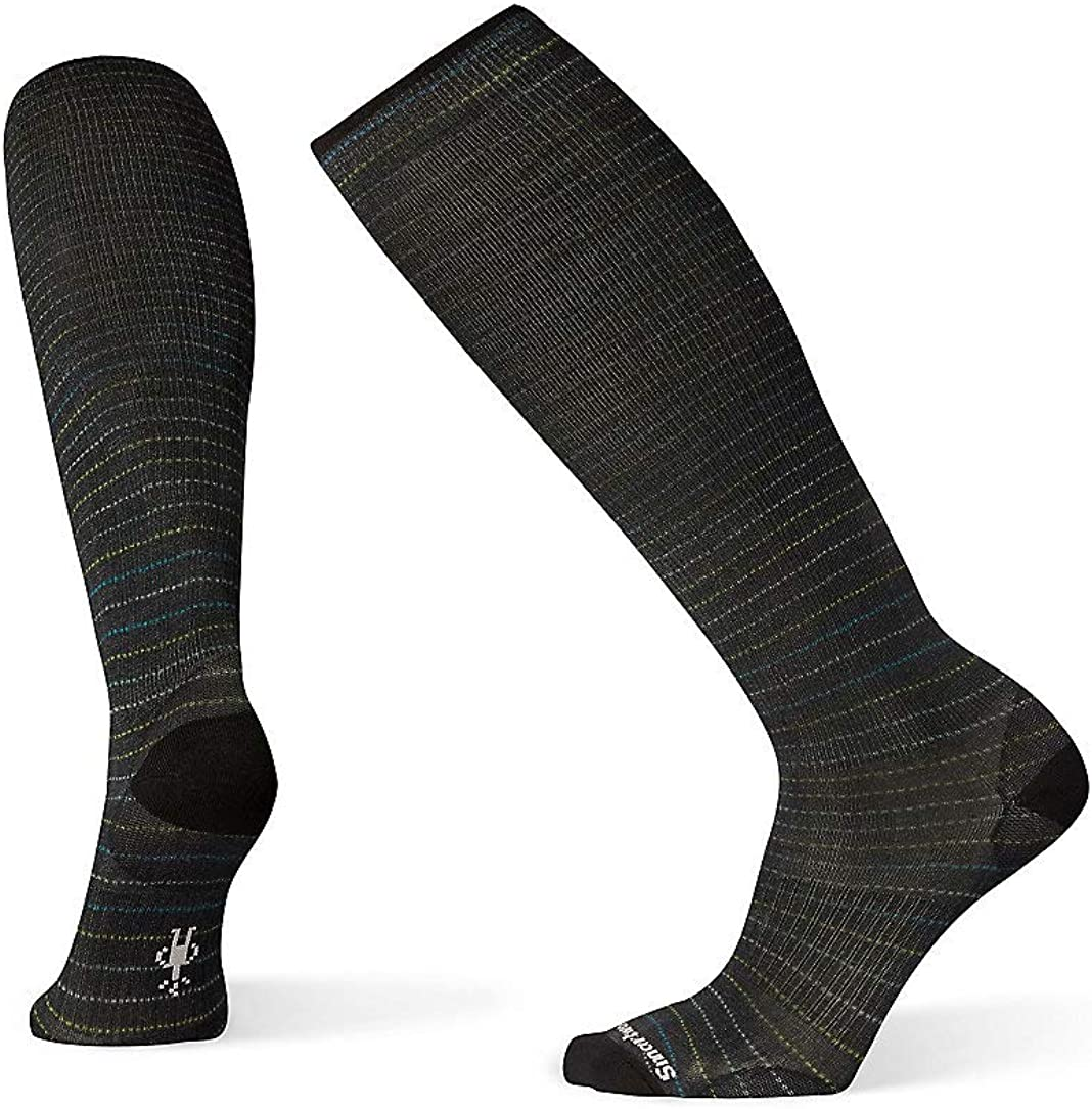 Smartwool Compression Over-the-Calf Socks - Men's Cruisin' Along Print, Merino