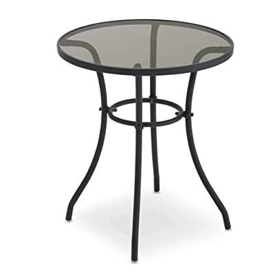 "Courtyard Creations TGS23HG Four Seasons Verona 24"" Round Bistro Table: Garden & Outdoor..."