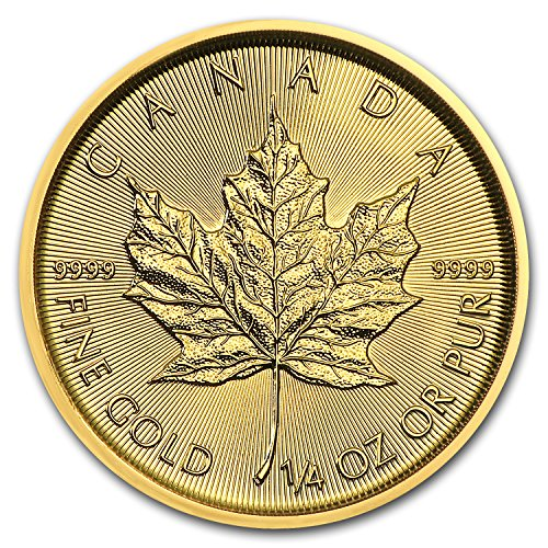 2018 CA Canada 1/4 oz Gold Maple Leaf BU (1/4) Brilliant Uncirculated