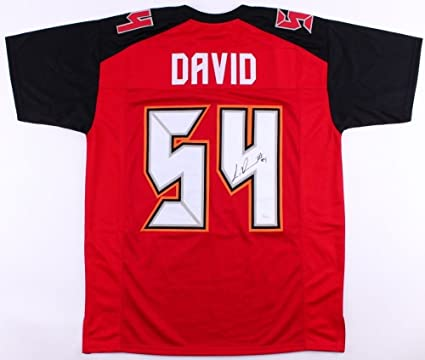750c4a51c42 Lavonte David Autographed Signed Buccaneers Jersey - JSA Certified ...