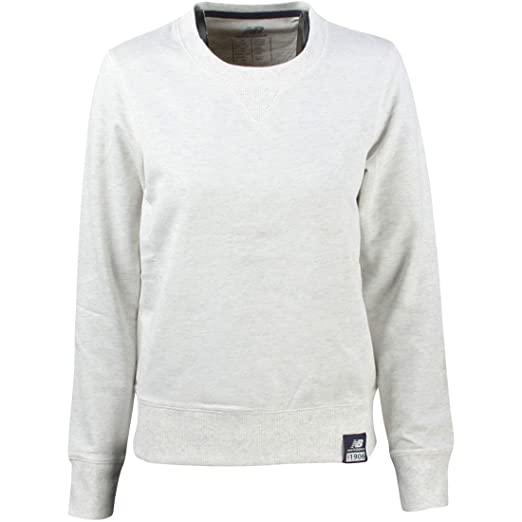 fe5eefe89c9a9 Amazon.com: New Balance Women's Crewneck Sweater: Clothing