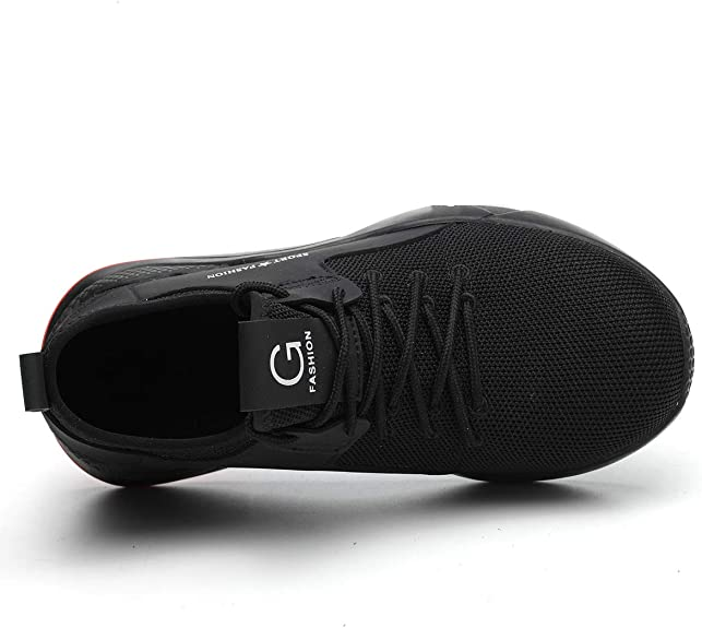 Calzado de Industrial y Deportiva JOINFREE Zapatos de Seguridad para Hombre con Puntera de Acero Zapatillas de Seguridad Trabajo