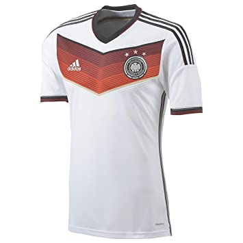 ceac3aaa2fb9e Image Unavailable. Image not available for. Color: World Cup 2014 Germany  Men's Jersey Home ...