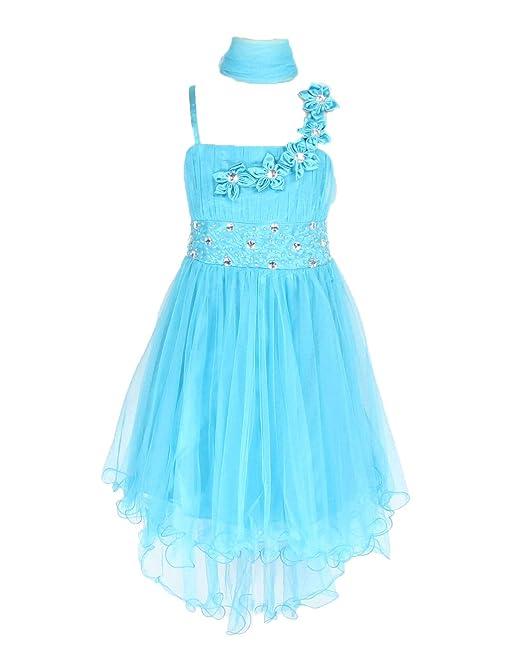 Sin mangas Vestido tul vestido de fiesta para niña vestido de madrina, vestido de ahijada