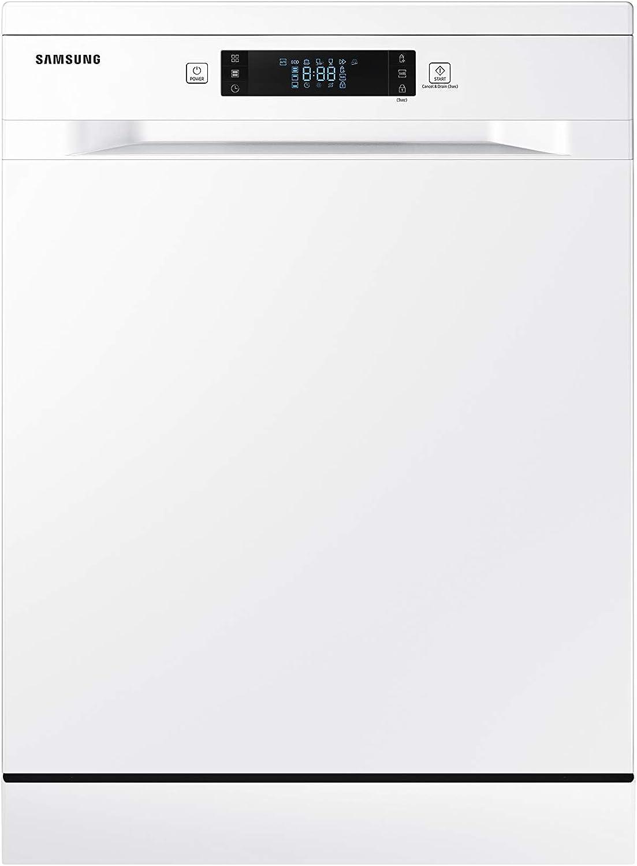 SAMSUNG - DW60M6050FW Independiente 14cubiertos A++ lavavajilla - Lavavajillas (Independiente, Blanco, Tamaño completo (60 cm), Blanco, Botones, Tocar, LED)