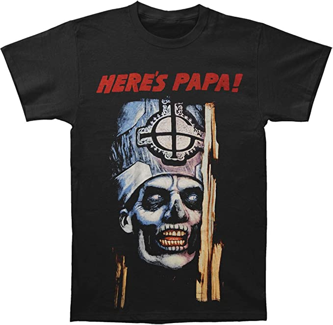 Ghost /'Here/'s Papa/' T-Shirt NEW /& OFFICIAL!