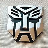 Jackey Awesome®Transformers Autobot Car Chrome Badge Emblem 3D Logo