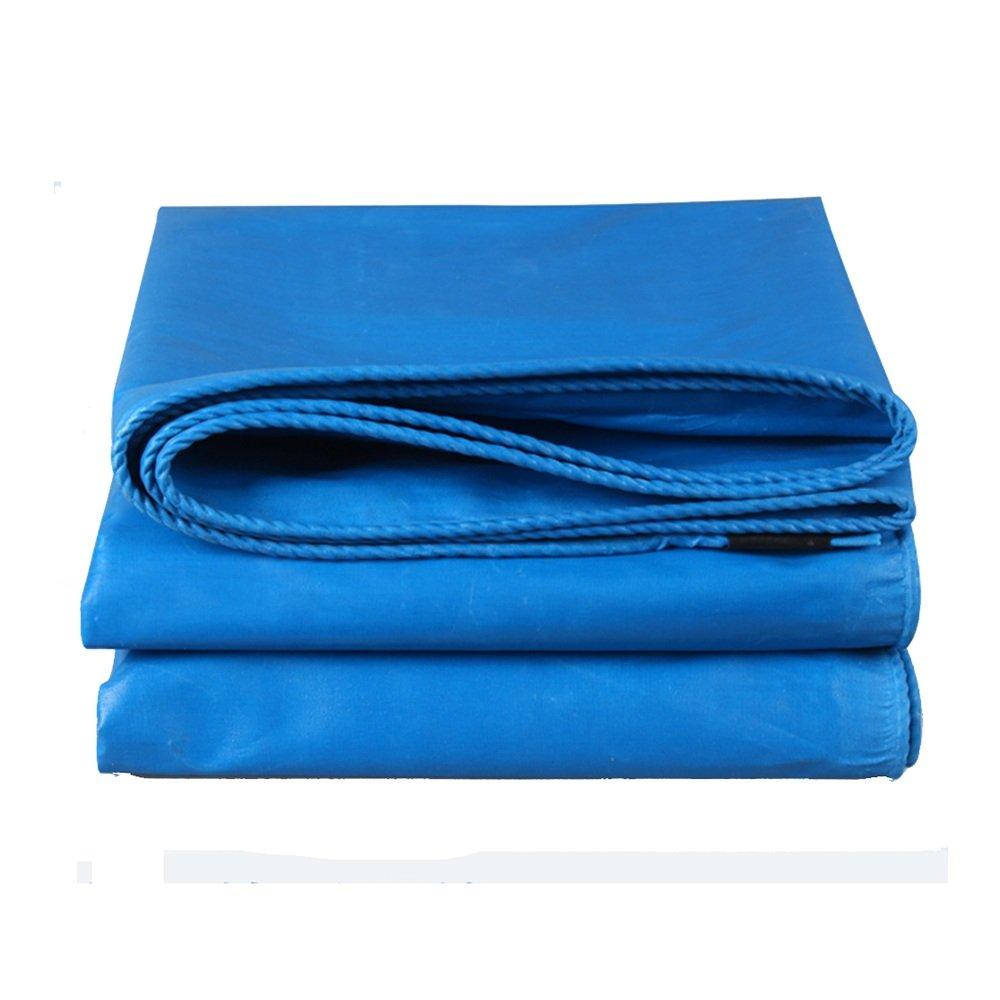DNSJB Telone Esterno in PVC Impermeabile Telone Antipioggia Anti-Sole Isolamento antigelo Anti-Tempo Facile da Piegare Protezione Solare, Tarpaulin di qualità Premium (Dimensioni   4  5m)