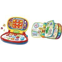VTech -Mis primeras Teclas Ordenador Infantil con Tres Modos de Juegos Que enseña Animales, Colores + Primeras Canciones…