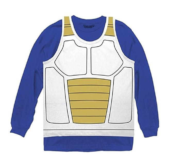 78568b1ffe37 Ripple Junction Dragon Ball Z Vegeta Saiyan Armor Costume Cosplay Shirt  (XXX-Large)