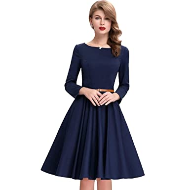 077933c5ace AMPLE CREATION Women s Western Wear Knee Length Skater Dress Without  Belt(Belt is not Included
