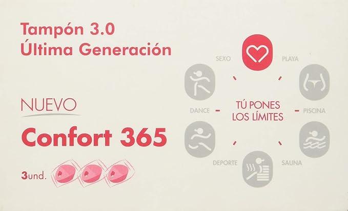VALUE + TAMPON CONFORT 365 3 Uds.: Amazon.es: Salud y ...