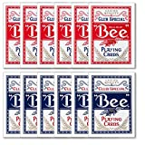 Bee No. 92 Diamond Back Club Special Red/Blue 12 Decks