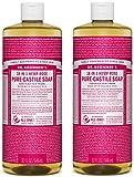 Dr. Bronner's Pure-Castile Liquid Soap Value Pack – Rose 32oz. (2 Pack) Review