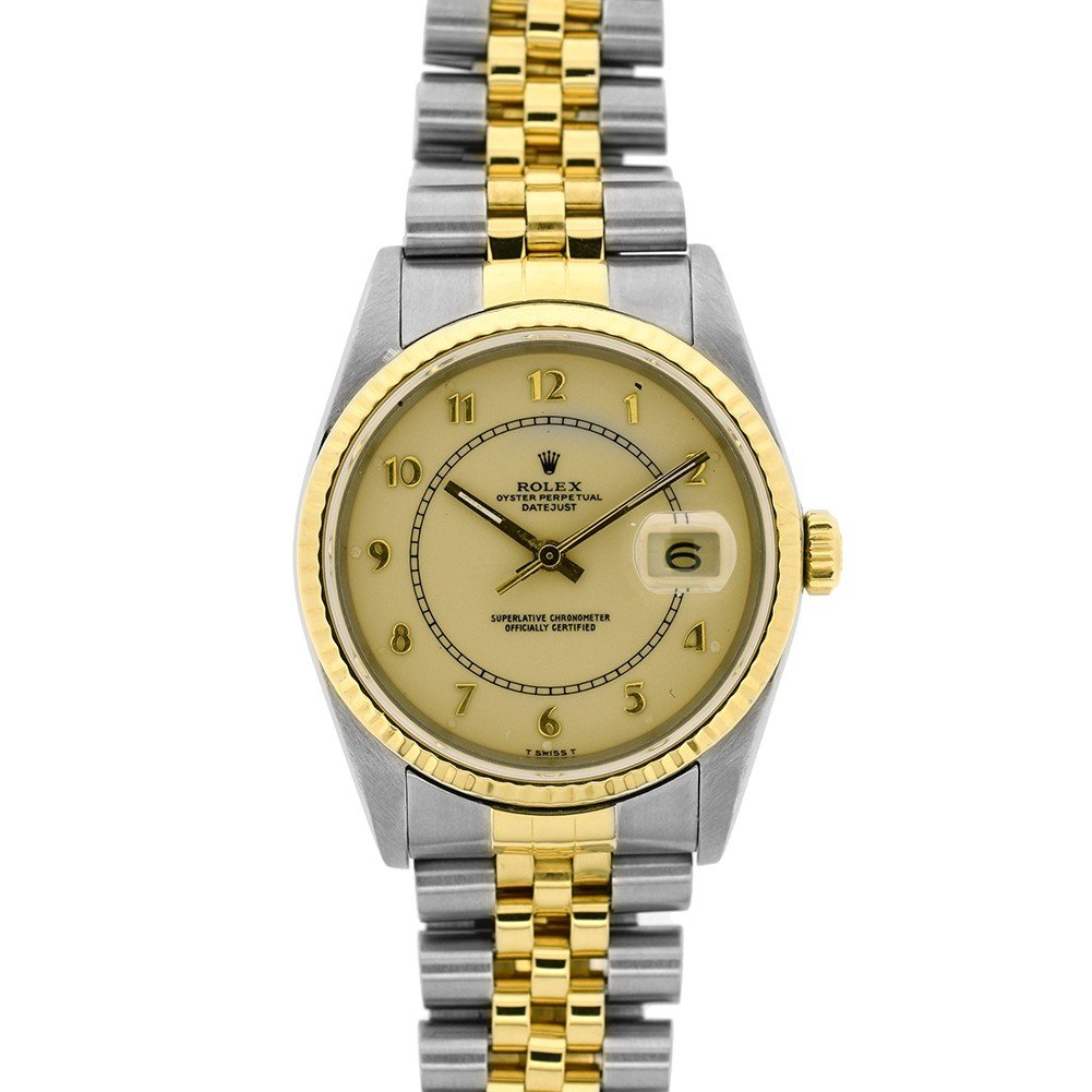 Rolex Day-Date automatic-self-wind mens Watch 16233 (Certified Pre-owned)