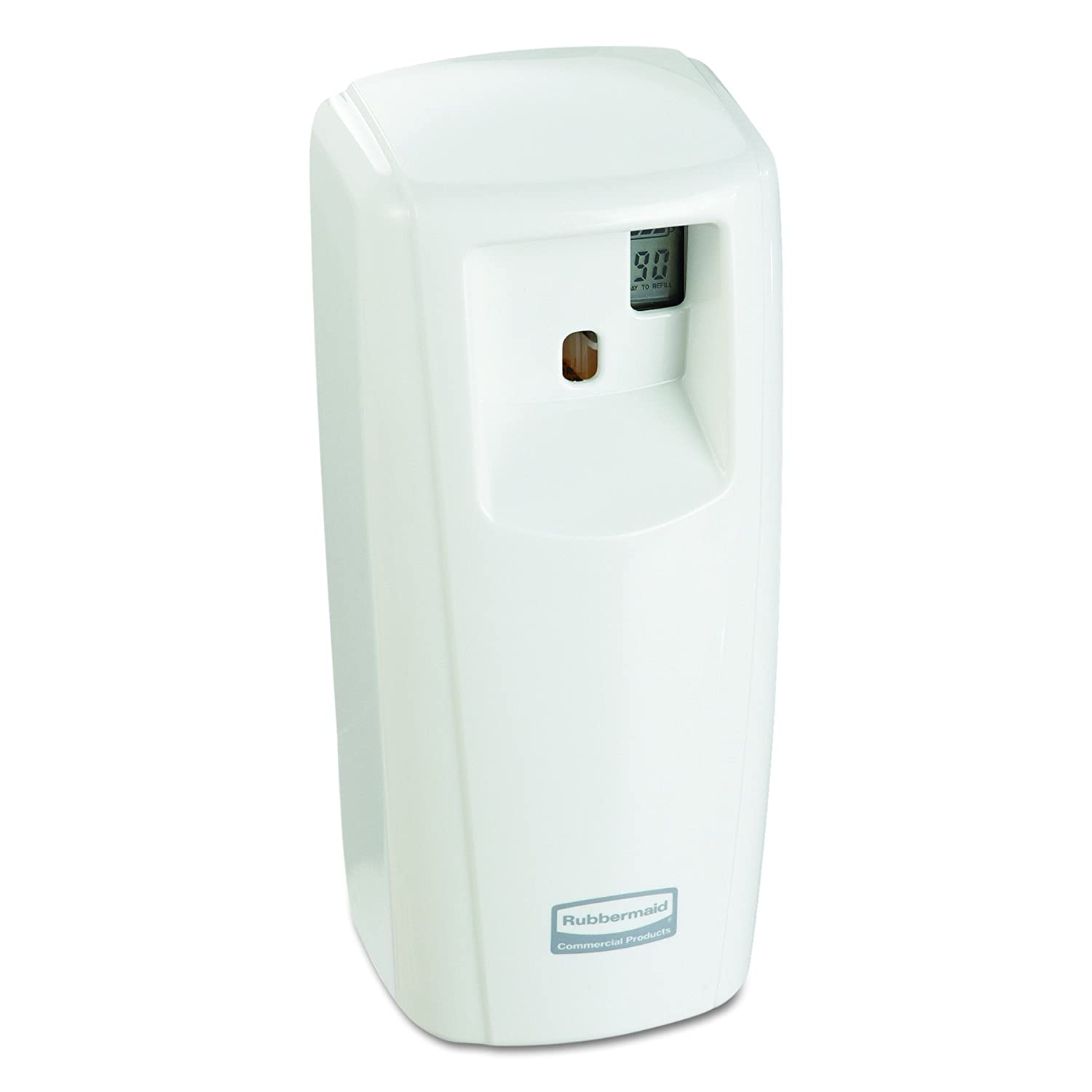 Rubbermaid Commercial Microburst Odor Control System 9000 LCD, White