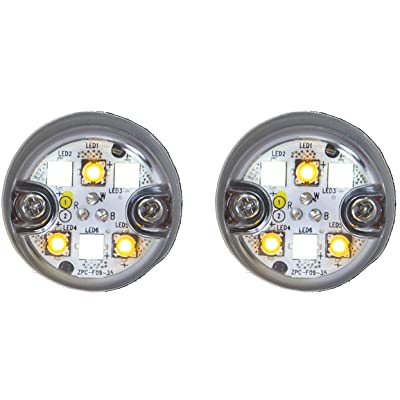 Buyers Products 8891327 Amber/Clear 6 LED Strobe Light: Automotive