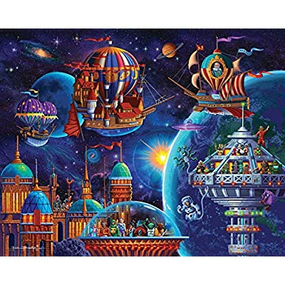 Dowdle Jigsaw Puzzle - Space Adventure - 500 Piece: Toys & Games