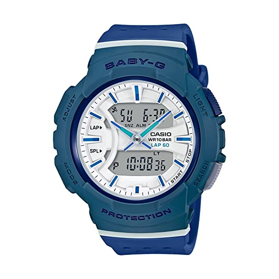 b8cf66cd88a Buy Casio Baby-g Analog-Digital White Dial Women s Watch - BX093 (BGA-240-2A2DR)  Online at Low Prices in India - Amazon.in