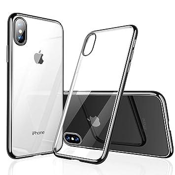 d4057abe0b iPhone X 専用ケース iPhone X バンパー [ メタリック 水洗い可 ] [ ワイヤレス充電 対応