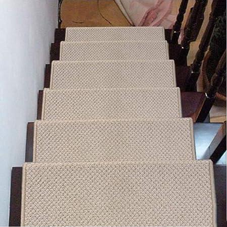 Alfombrillas de pisada de escalera Premium, antideslizante de seguridad para escaleras, apto para escalera, sala de estar, vestíbulo, dormitorio, etc. (25,6 pulgadas * 9,4 pulgadas),B,10PCS65*24cm: Amazon.es: Hogar