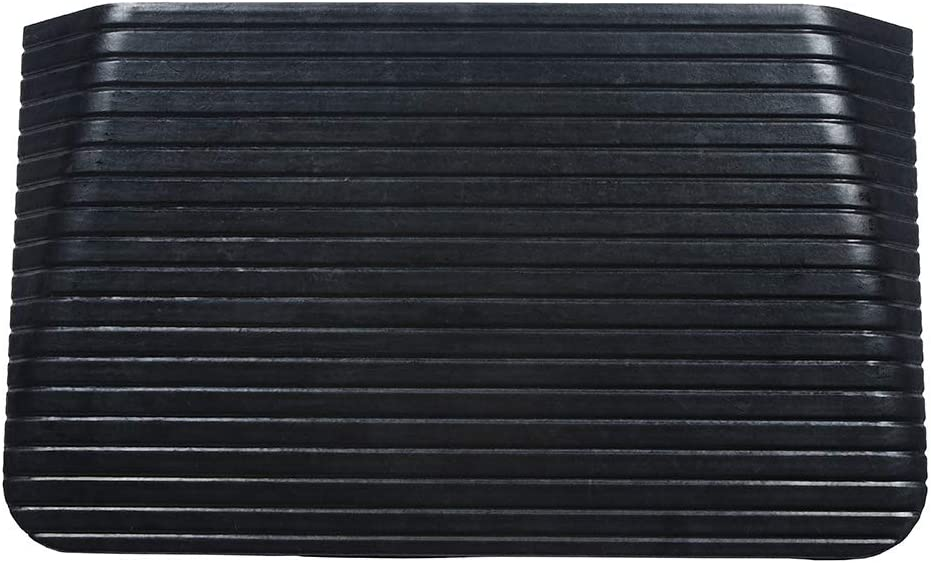 Foghorn Construction- 3.5 Inch High Threshold Ramp for Door, 35.5 Wide, Wheelchair, Doorway Ramps, Any Opening Where The sill has a Tripping Hazard in The Way. Heavy and Strong for Powered Wheelchairs