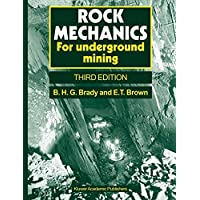 Rock Mechanics: For underground mining