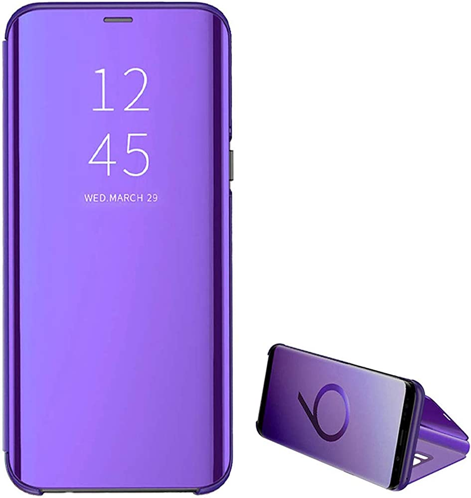 Clear View Standing Cover para el Samsung Galaxy S8 Espejo Handy ...