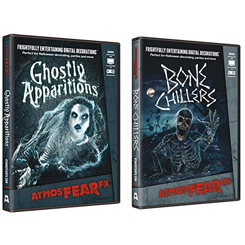AtmosFear FX Ghostly Apparitions & Bone Chillers DVD