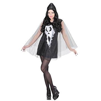 Amakando Disfraz Mujer Halloween - S (ES 36/38) | Vestido de ...