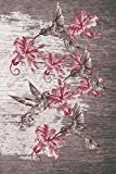 Journal: Hummingbirds (Pink) 6x9 - LINED JOURNAL - Journal with lined pages - (Diary, Notebook) (Birds & Buttterflies Line...