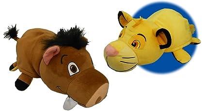 43289cc720c5b NEW! Disney Lion KIng - 14 inch Flipazoo Simba to Pumba Plush