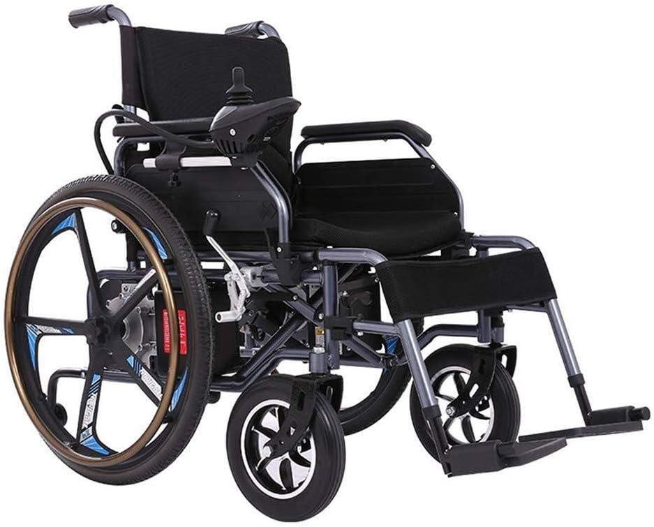 Silla de ruedas eléctrica plegable, Scooter motorizado for silla de ruedas Silla de ruedas duradera, segura y fácil de conducir for personas de movilidad reducida. sillas de ruedas electricas