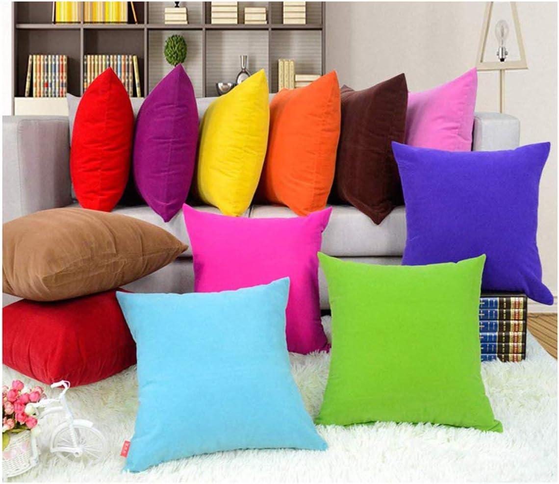 Decorative pillowcase solid color sofa