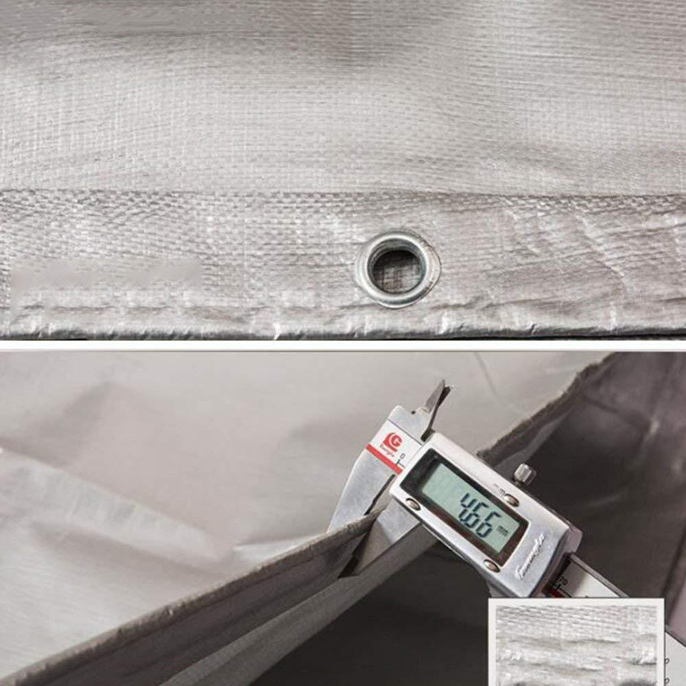 00020 Meng Panno di Plastica Antipioggia Resistente Resistente Resistente Ultraleggero Telone Impermeabile Parasole Antipioggia Telone Impermeabile Telone Impermeabile,grigio-5x7m B07KXY6YKB 5x7m grigio   Ordine economico    Materiali Di Altissima Qualità    Essere Nuovo Nel 87b1e5
