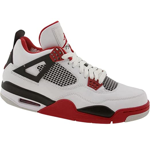 2bbd2c5a9f9 ... get nike air jordan 4 iv retro fire red white black 2012 308497 110 us  c6be4