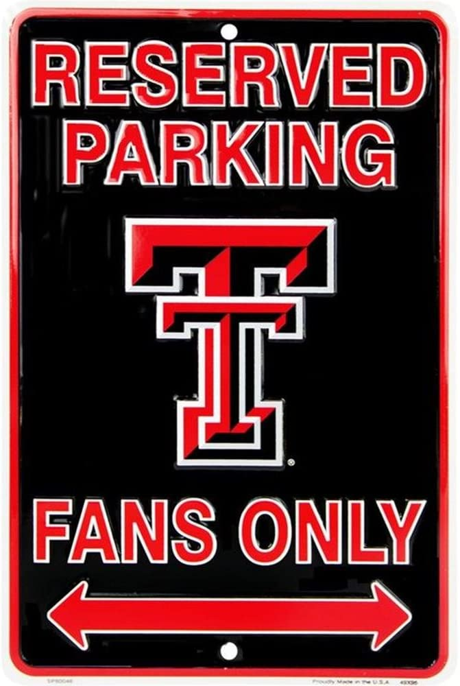 Signs 4 Fun SPSCTT TX Tech Fans Small Parking