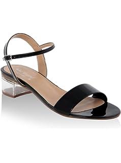 MINEVAGANTI Chaussures à Semelle Compensée Femme 39 EU I417WxLx1j
