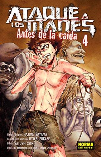 Descargar Libro Ataque A Los Titanes: Antes De La Caída 4 Suzukaze, Shibamoto, Shiki Isayama