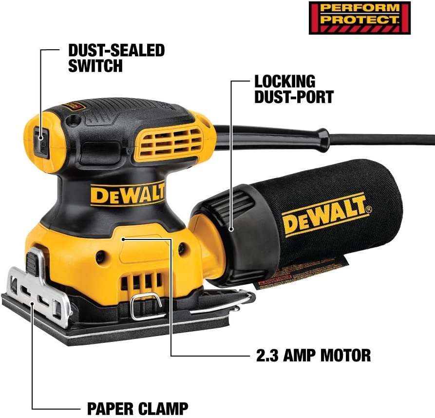 DEWALT DWE6411K Finishing Sanders product image 2