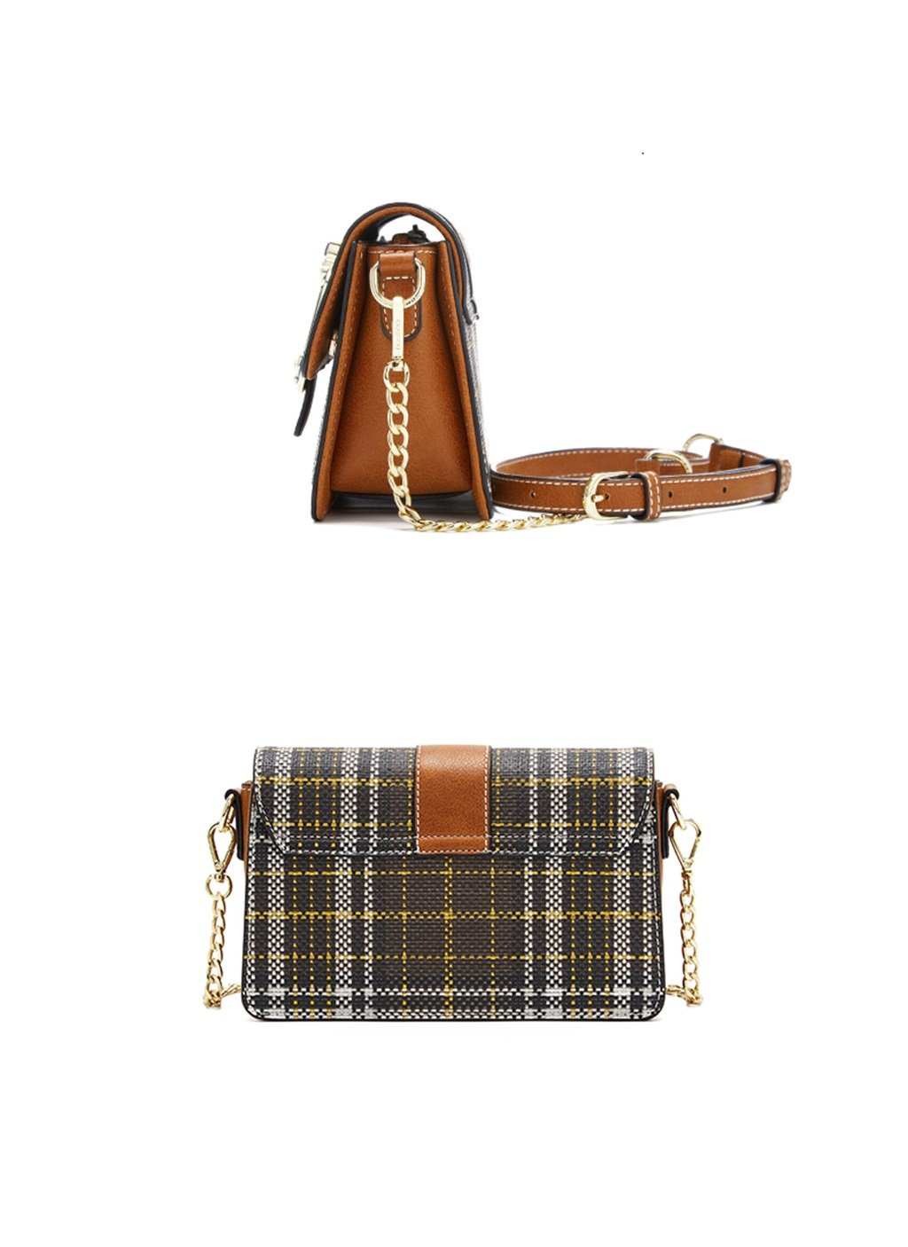 Bolso de Mujer Pequeño Bolso de Hombro de Cadena de Oro Mini Bolso de Noche Clásico de Embrague de Cruz (Color : #2): Amazon.es: Hogar