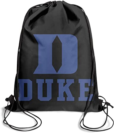Drawstring Bags for Women /& Men GUYI3 Shoulders Sports Unisex Duke-University