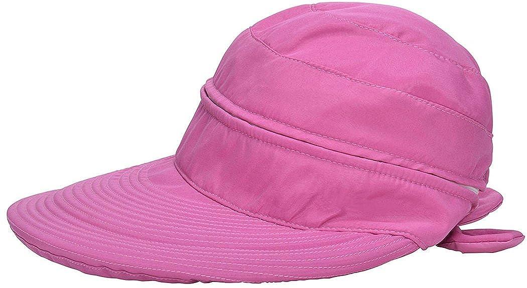 Kafeimali Visor Hats Wide Brim Cap UV Protection Summer Sun Baseball Beach Hat 201899MZ