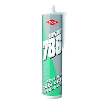 Dow Corning 786 sellador 310 ml silicona de grado alimenticio - Color blanco: Amazon.es: Bricolaje y herramientas