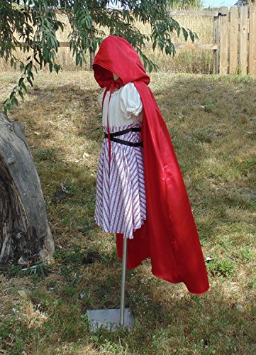 Teen Girls 10-14 Red Ridding Hood with Hooded Cape by Fru Fru and Feathers Costumes & Gifts