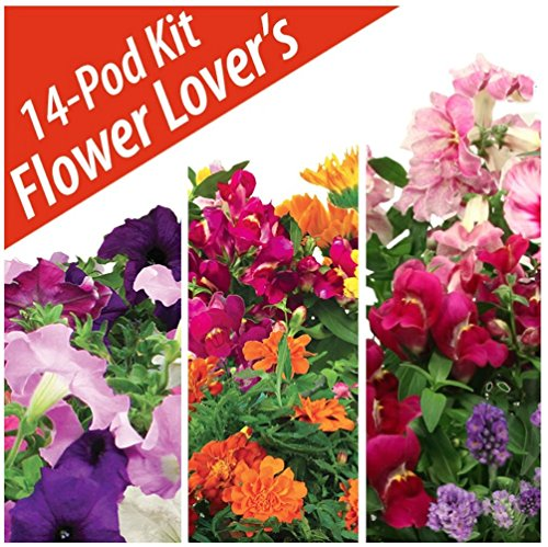 Flower Lovers Seed Pod Kit by Aerogarden (14 pods)