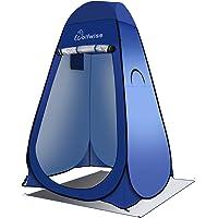 WolfWise Pop up Toilettenzelt Umkleidezelt, Camping Duschzelt Outdoor Mobile Toilette Umkleidekabine Lagerzelt Tragbar