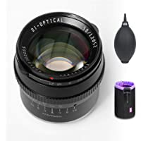 TTartisan 50mm F1.2 APS-C Large Aperture Manual Focus Fixed Lens Compatible with Fuji X-Mount Camera