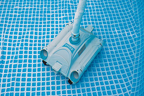 Intex Krystal Clear 2650 GPH Saltwater System & Sand Filter Pump Pool Set PartsIntex Automatic Above-Ground Pool Vacuum for Pumps 1,600-3,500 GPH | 28001E